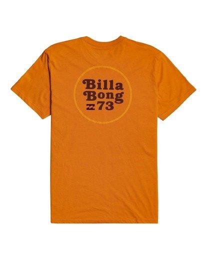 3 Walled - T-shirt pour Homme Orange W1SS32BIP1 Billabong