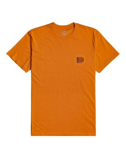 2 Walled - T-shirt pour Homme Orange W1SS32BIP1 Billabong