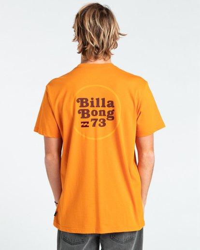 1 Walled - T-shirt pour Homme Orange W1SS32BIP1 Billabong