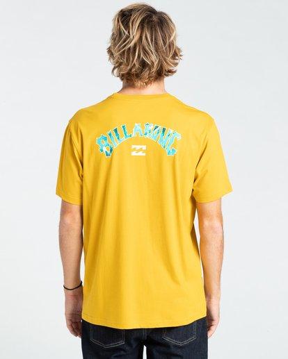 1 Arch Fill - T-Shirt for Men Yellow W1SS45BIP1 Billabong