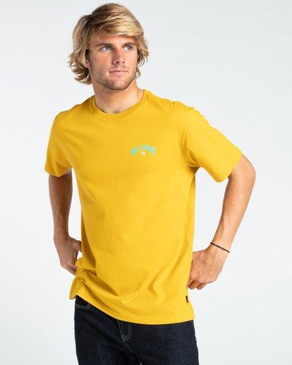 0 Arch Fill - T-Shirt for Men Yellow W1SS45BIP1 Billabong