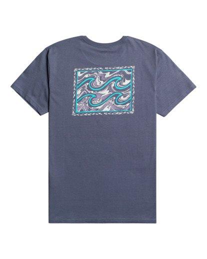 1 Crayon Wave - T-Shirt for Men Blue W1SS48BIP1 Billabong