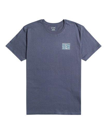 0 Crayon Wave - T-Shirt for Men Blue W1SS48BIP1 Billabong