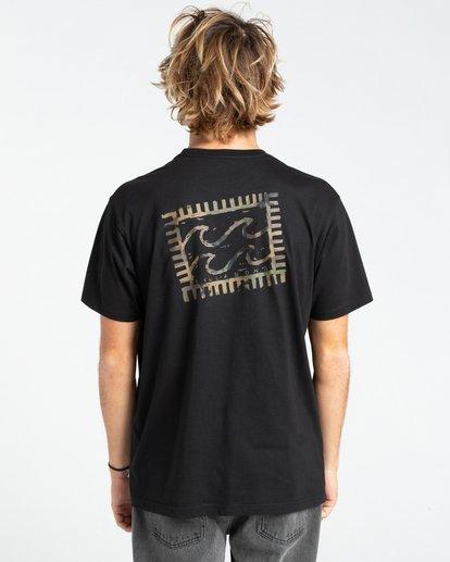1 Crayon Wave - T-Shirt for Men Black W1SS48BIP1 Billabong