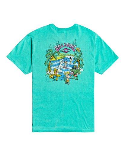 3 Gang Of Gangs - T-shirt pour Homme Bleu W1SS52BIP1 Billabong