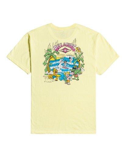3 Gang Of Gangs - T-shirt pour Homme Jaune W1SS52BIP1 Billabong