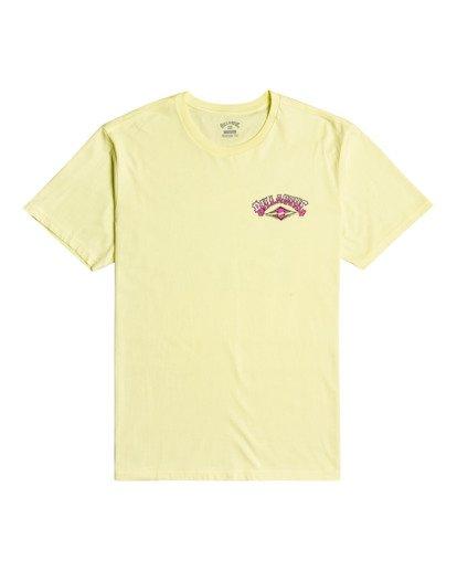 2 Gang Of Gangs - T-shirt pour Homme Jaune W1SS52BIP1 Billabong