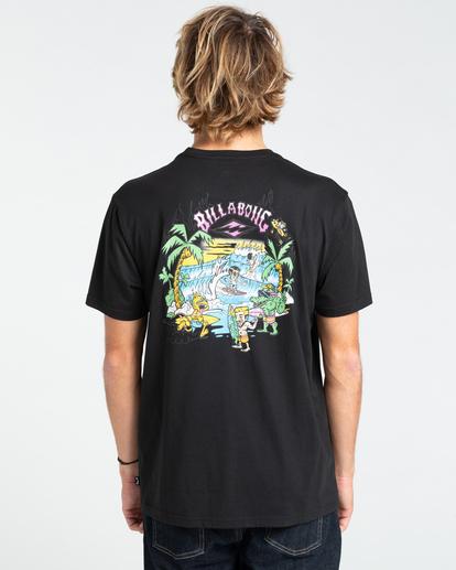 1 Gang Of Gangs - T-shirt pour Homme Noir W1SS52BIP1 Billabong