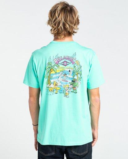 1 Gang Of Gangs - T-shirt pour Homme Bleu W1SS52BIP1 Billabong