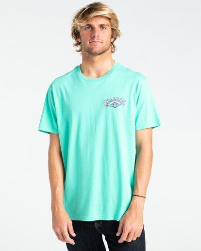 0 Gang Of Gangs - T-shirt pour Homme Bleu W1SS52BIP1 Billabong