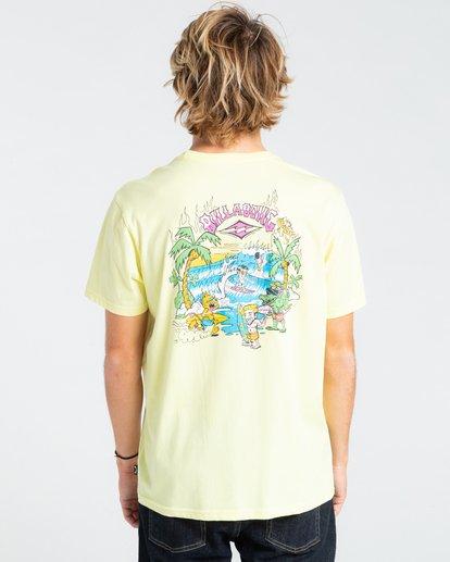 1 Gang Of Gangs - T-shirt pour Homme Jaune W1SS52BIP1 Billabong