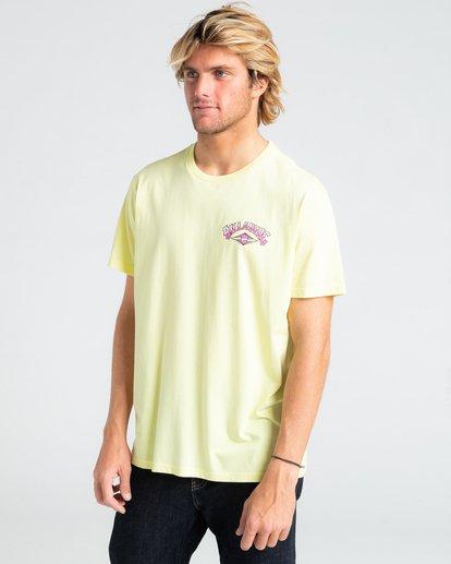 0 Gang Of Gangs - T-shirt pour Homme Jaune W1SS52BIP1 Billabong