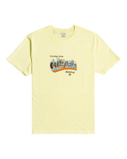2 Greetings - T-shirt pour Homme Jaune W1SS56BIP1 Billabong