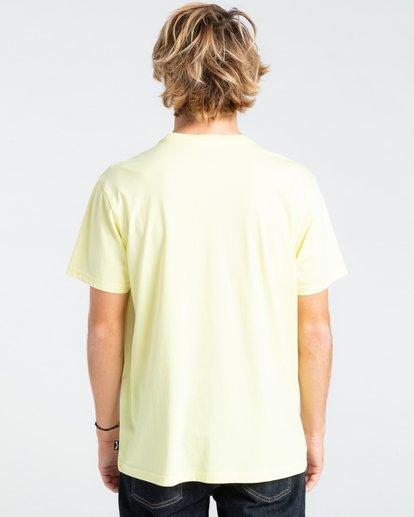 1 Greetings - T-shirt pour Homme Jaune W1SS56BIP1 Billabong