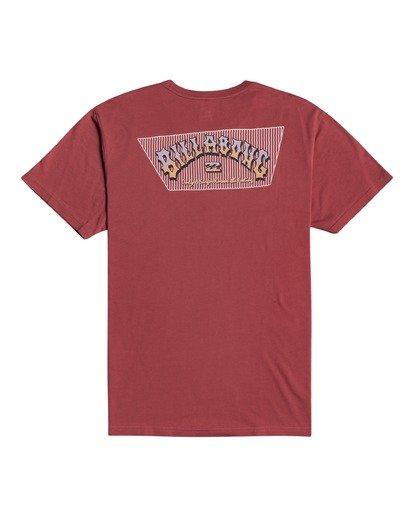 3 Heritage - T-shirt pour Homme Rouge W1SS58BIP1 Billabong