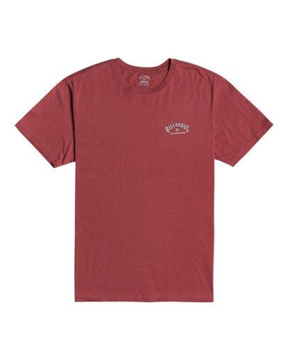 2 Heritage - T-shirt pour Homme Rouge W1SS58BIP1 Billabong