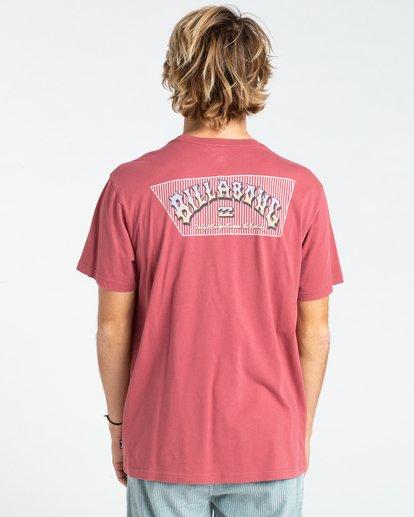 1 Heritage - T-shirt pour Homme Rouge W1SS58BIP1 Billabong