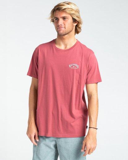 0 Heritage - T-shirt pour Homme Rouge W1SS58BIP1 Billabong