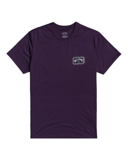2 Adventure Division Arch Wave - T-Shirt for Men Purple W1SS67BIP1 Billabong