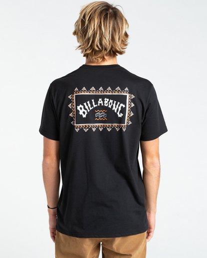 1 Adventure Division Arch Wave - T-shirt pour Homme Noir W1SS67BIP1 Billabong