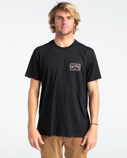 0 Adventure Division Arch Wave - T-shirt pour Homme Noir W1SS67BIP1 Billabong