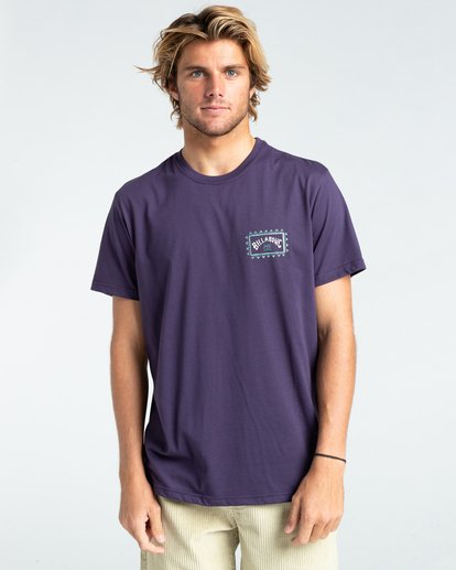 0 Adventure Division Arch Wave - T-Shirt for Men Purple W1SS67BIP1 Billabong