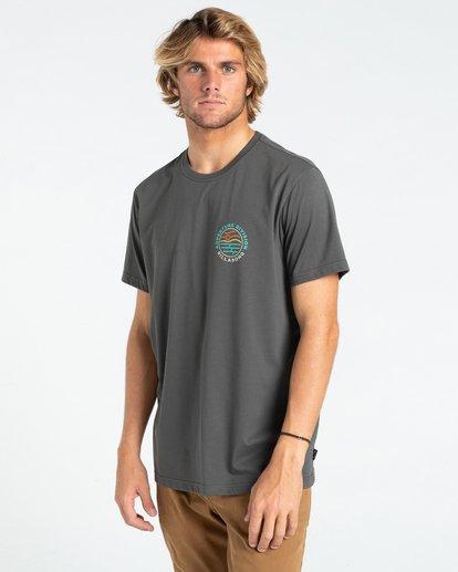 2 Adventure Division View - T-shirt pour Homme Noir W1SS69BIP1 Billabong