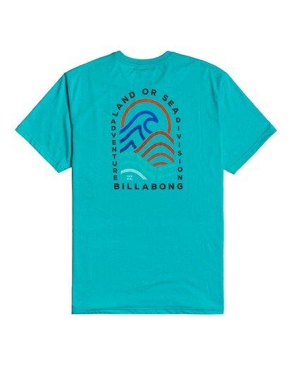 1 Adventure Division Transition - T-shirt pour Homme Bleu W1SS70BIP1 Billabong