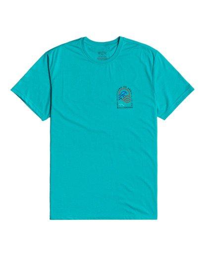 0 Adventure Division Transition - T-shirt pour Homme Bleu W1SS70BIP1 Billabong