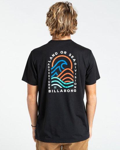 1 Adventure Division Transition - T-shirt pour Homme Noir W1SS70BIP1 Billabong