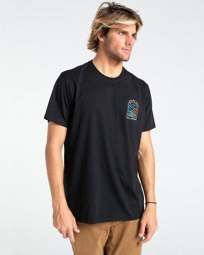 0 Adventure Division Transition - T-shirt pour Homme Noir W1SS70BIP1 Billabong