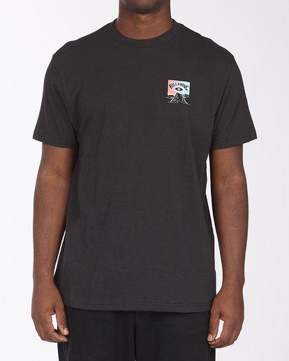 2 Adventure Division Eyesolation Arch - T-Shirt for Men Black W1SS93BIP1 Billabong