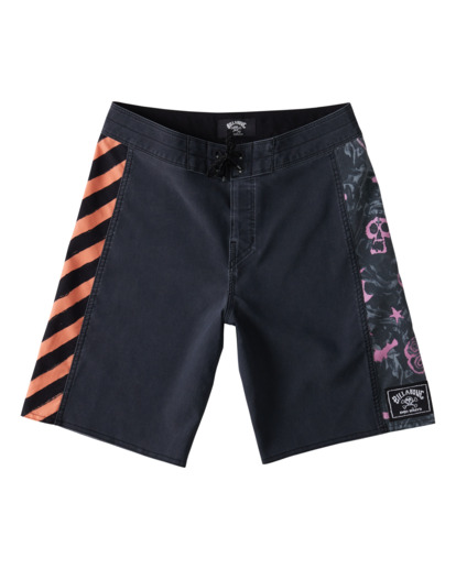 "1 Bad Billy DBah 17"" - Board Shorts for Boys Black W2BS10BIP1 Billabong"