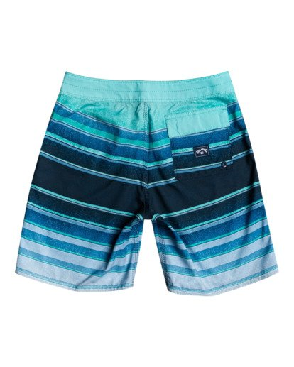 "1 All Day Stripes 16"" - Board Shorts for Boys Blue W2BS14BIP1 Billabong"