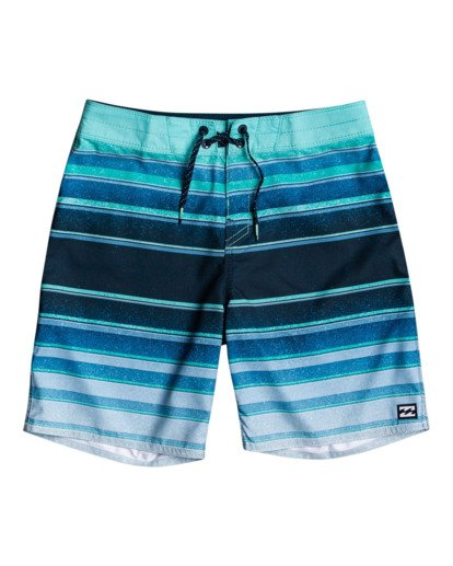 "0 All Day Stripes 16"" - Board Shorts for Boys Blue W2BS14BIP1 Billabong"