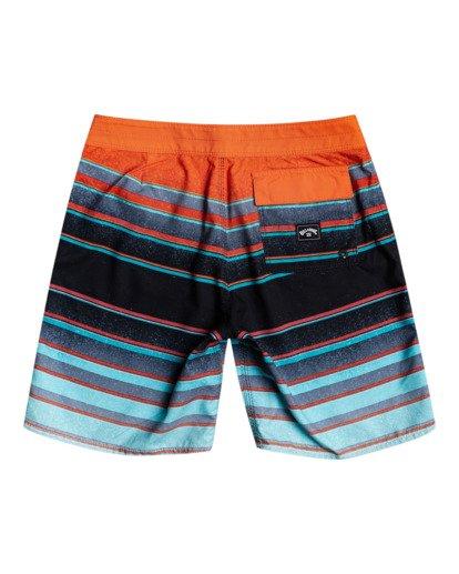 "1 All Day Stripes 16"" - Board Shorts for Boys Blue W2BS14BIP1 Billabong"