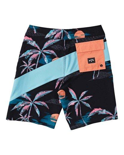 1 T Street Pro - Board Shorts for Boys Blue W2BS23BIP1 Billabong