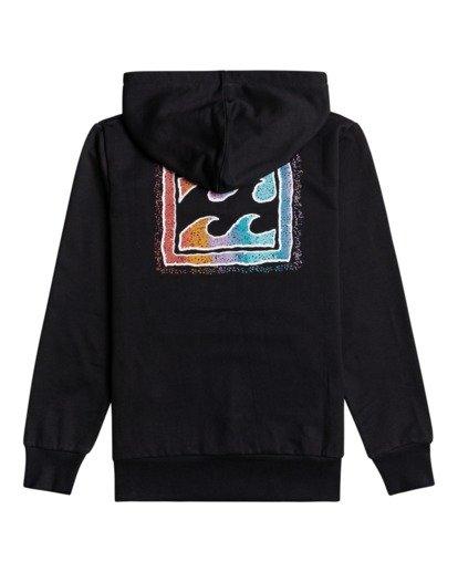 1 Crayon Wave - Sweatshirt für Jungen Schwarz W2HO03BIP1 Billabong