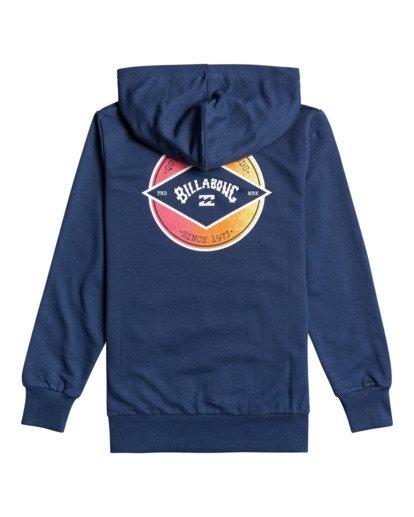 1 Crayon Wave - Sweatshirt für Jungen Blau W2HO03BIP1 Billabong