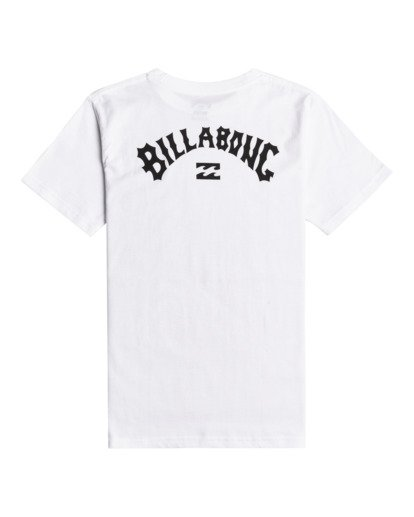 1 Arch Wave - T-Shirt for Boys White W2SS29BIP1 Billabong