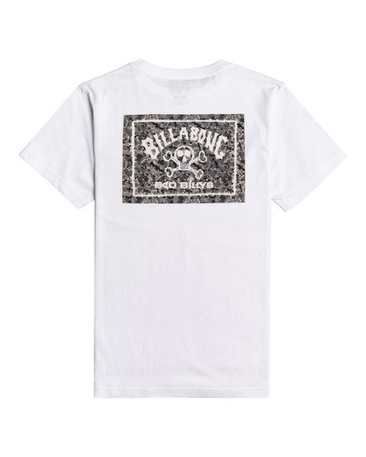 1 Bad Billy Arch - Camiseta para Chicos Blanco W2SS39BIP1 Billabong