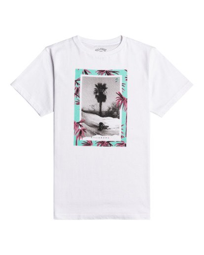 0 Painted Palms - T-Shirt for Boys White W2SS40BIP1 Billabong
