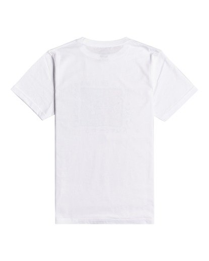 1 Mondo - Maglietta da Ragazzo White W2SS41BIP1 Billabong