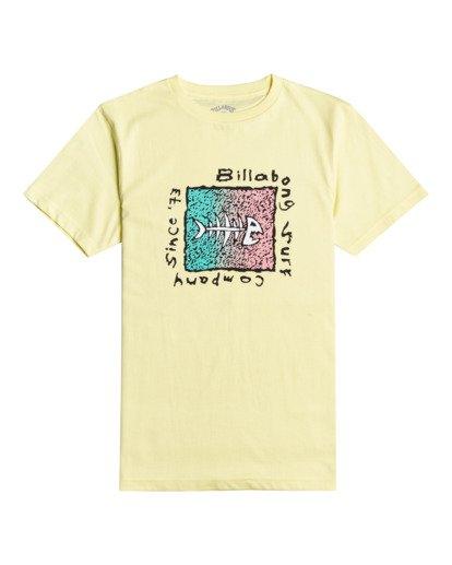 0 Mondo - T-Shirt for Boys Yellow W2SS41BIP1 Billabong