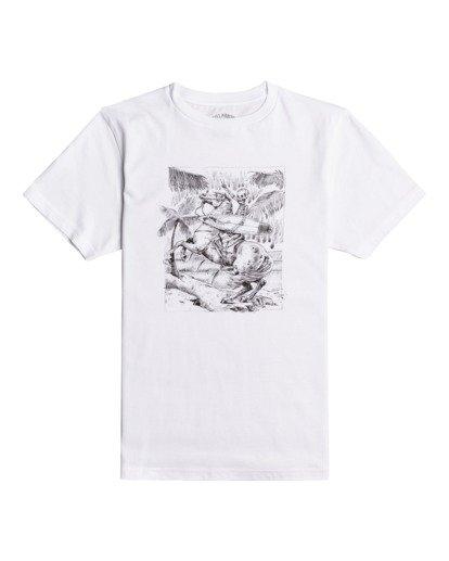 0 Hell Ride - T-Shirt for Boys White W2SS43BIP1 Billabong
