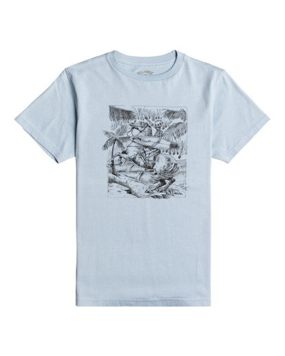 0 Hell Ride - Camiseta para Chicos Azul W2SS43BIP1 Billabong
