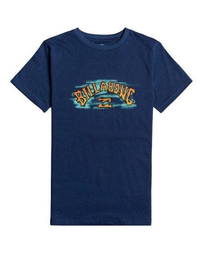 0 Arch Crayon - T-Shirt for Boys Blue W2SS48BIP1 Billabong