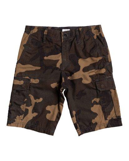 """0 Scheme 17"""" - Cargo Shorts for Boys Camo W2WK18BIP1 Billabong"""