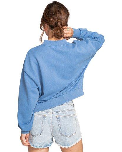 1 Dos Palms - Sweatshirt for Women Blue W3CR02BIP1 Billabong