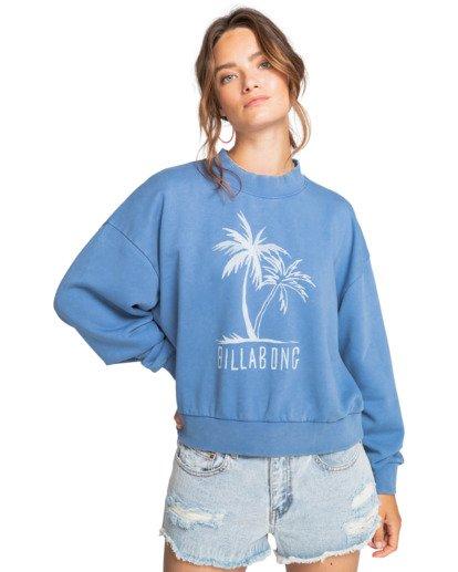 0 Dos Palms - Sweatshirt for Women Blue W3CR02BIP1 Billabong